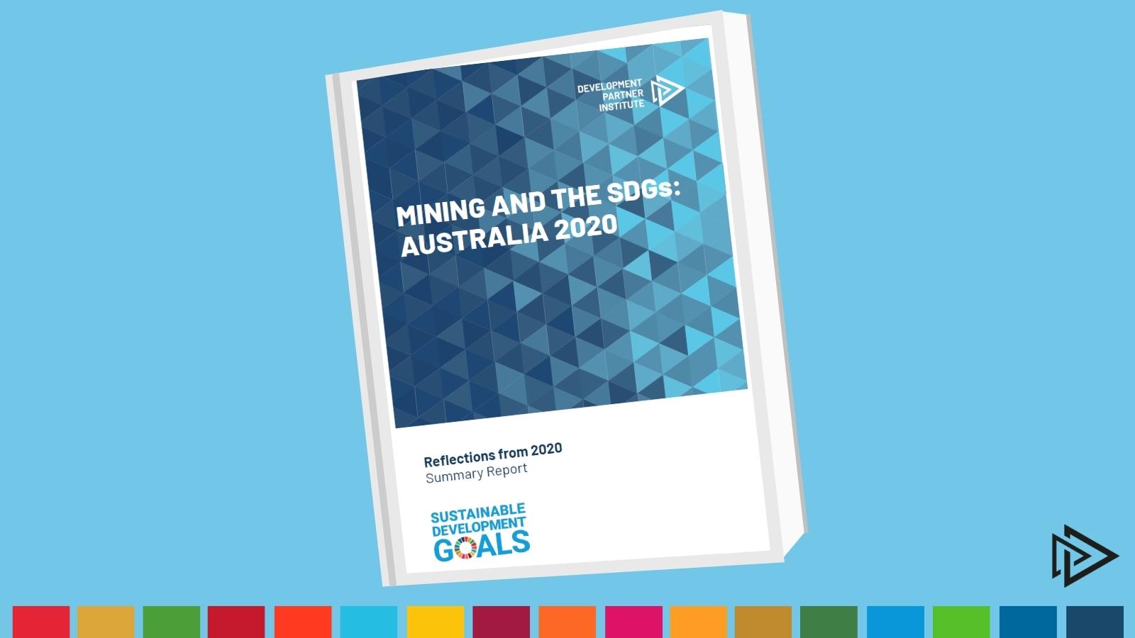 SDGs Report Cover